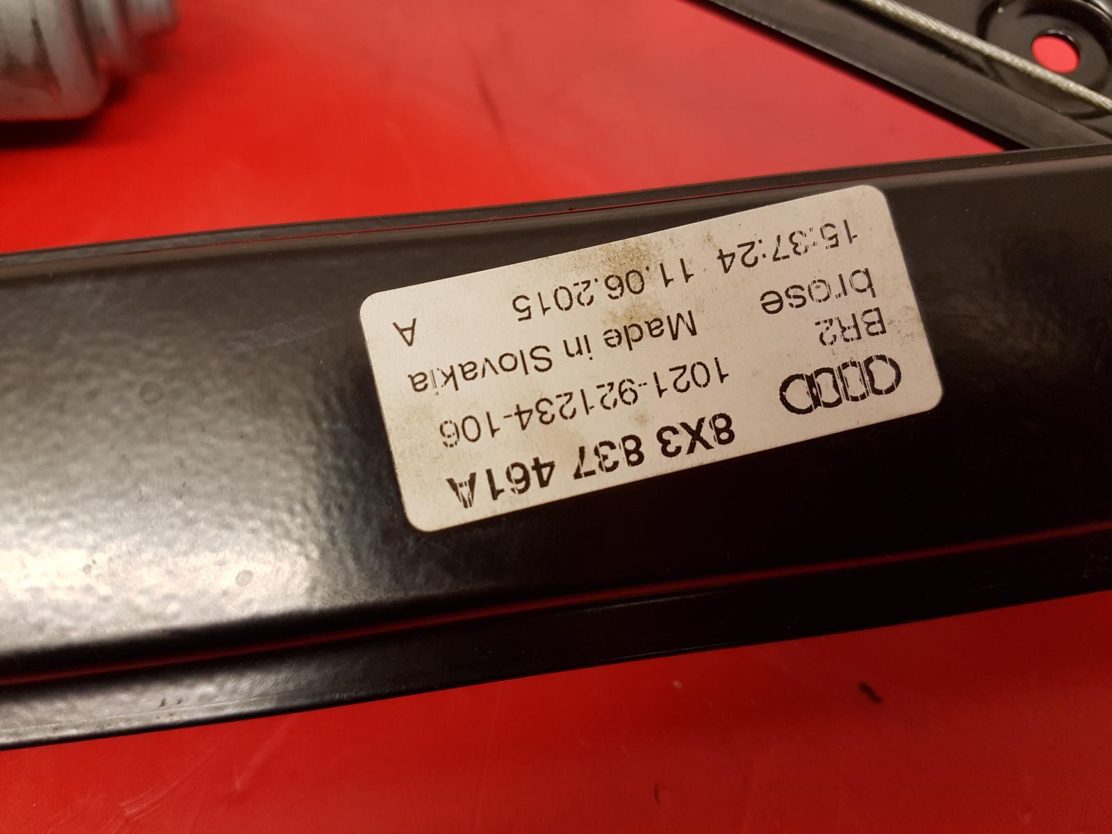 View Auto part LF Window Regulator Audi A1 2015