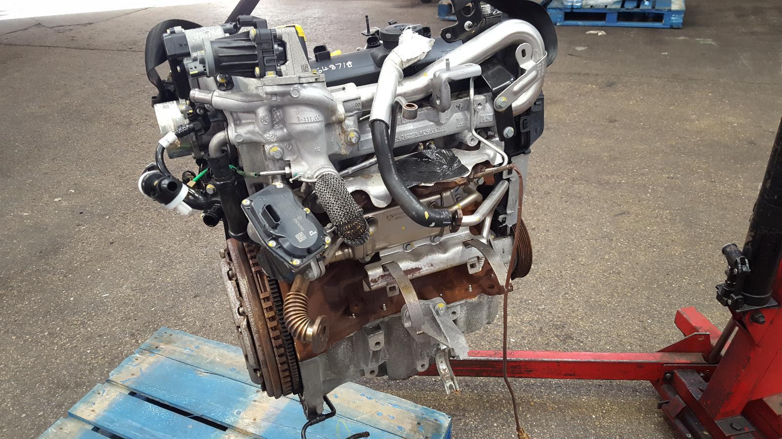 View Auto part Engine Renault Scenic 2016