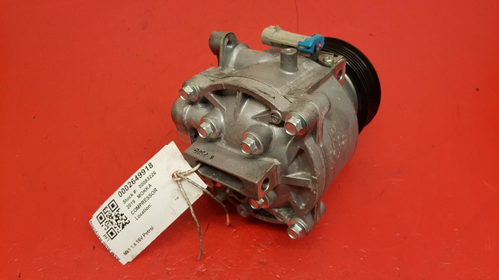 View Auto part Compressor Vauxhall Mokka 2019