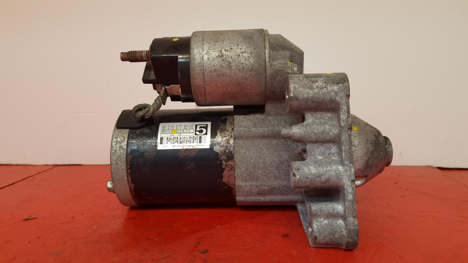 View Auto part Starter Motor Citroen Ds5 2013