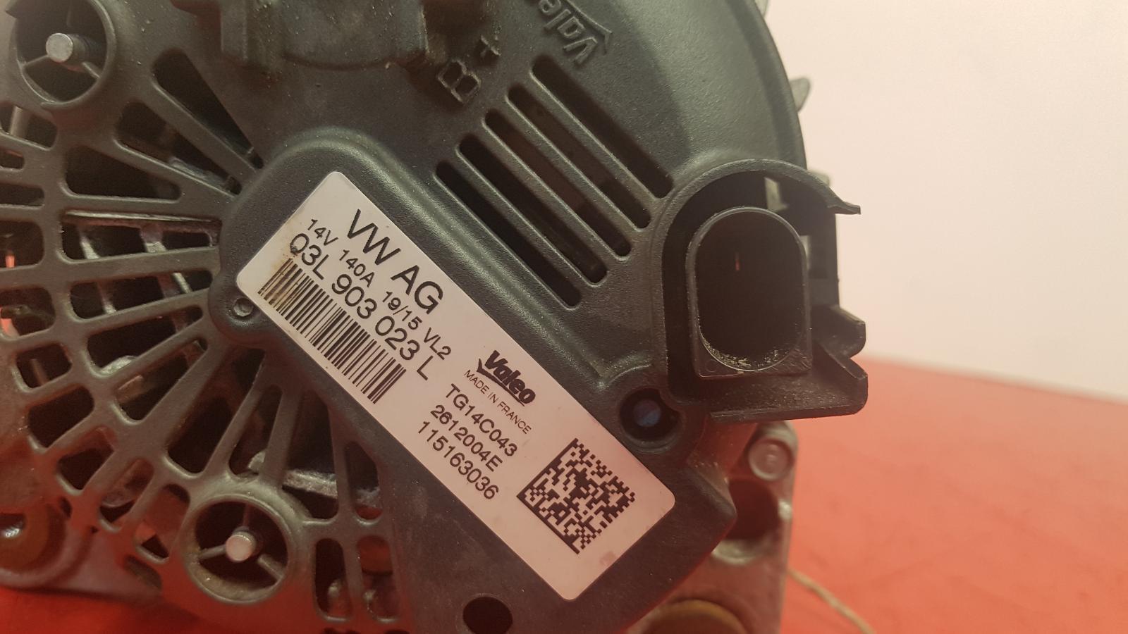 View Auto part Alternator Audi Q3 2015