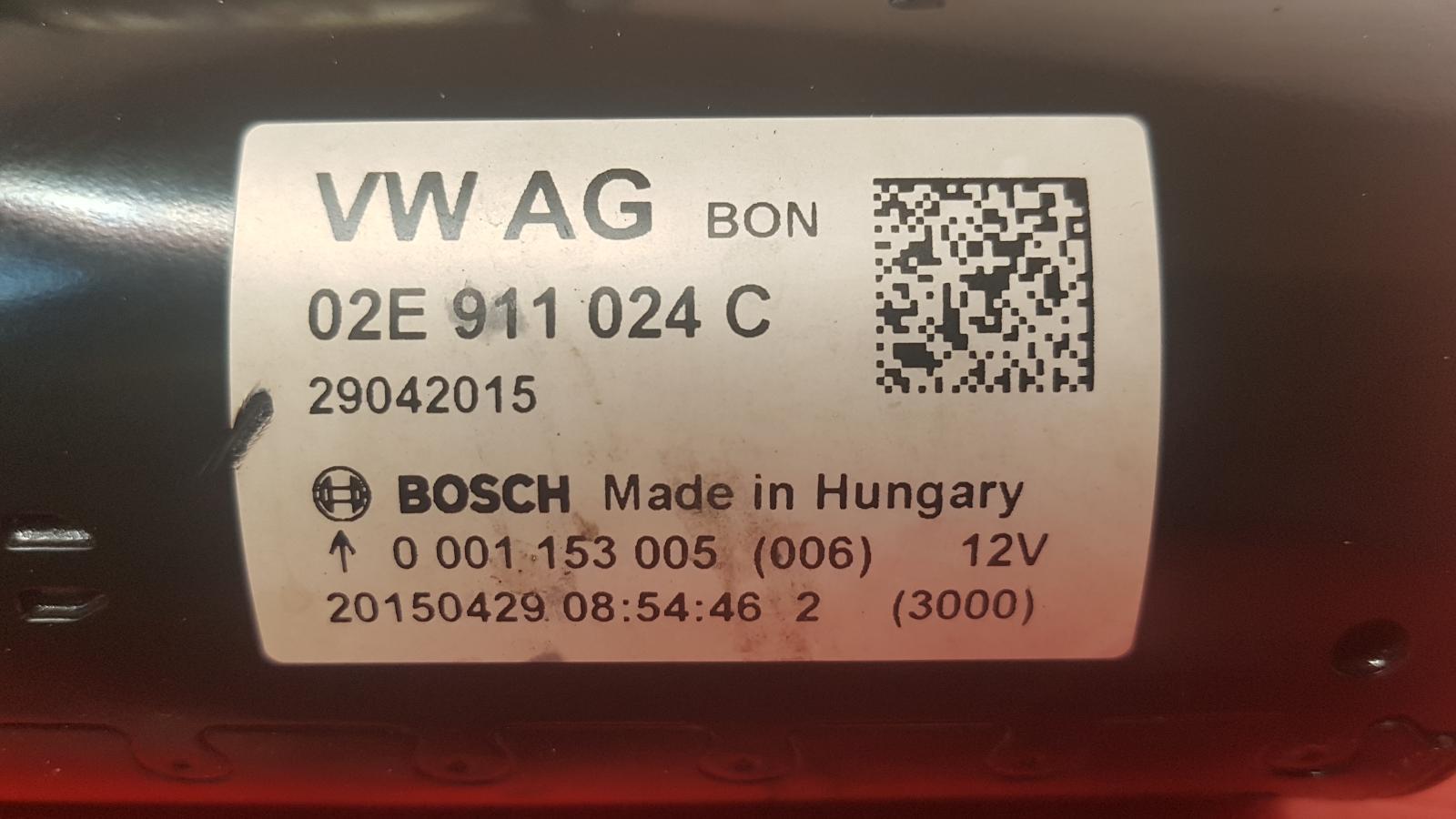 View Auto part Starter Motor Audi Q3 2015