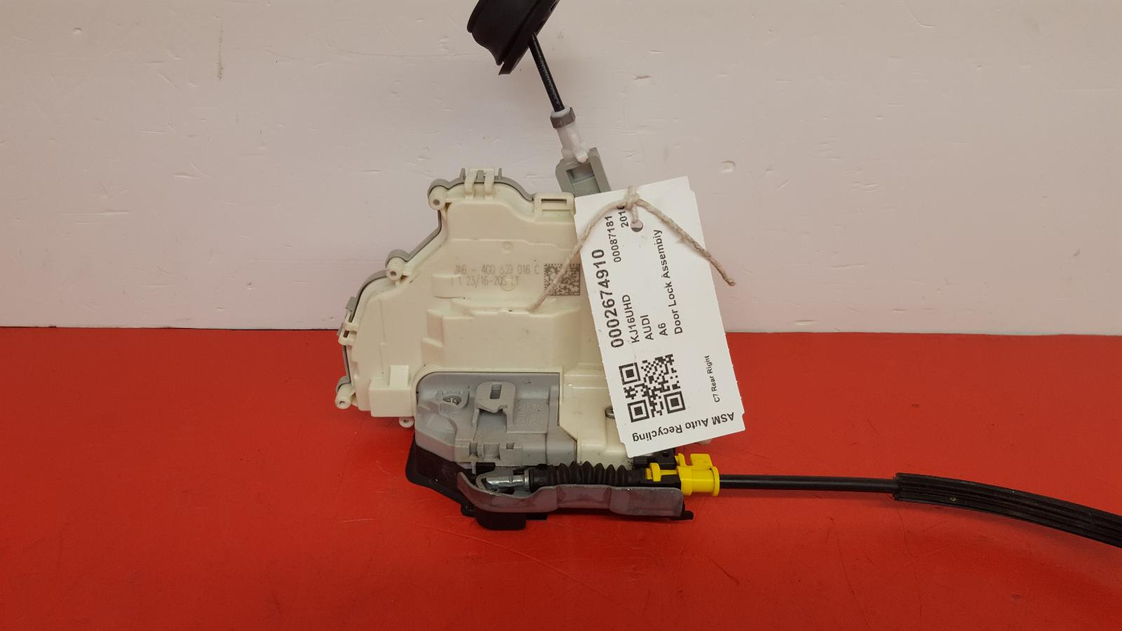 View Auto part Door Lock Assembly Audi A6 2016
