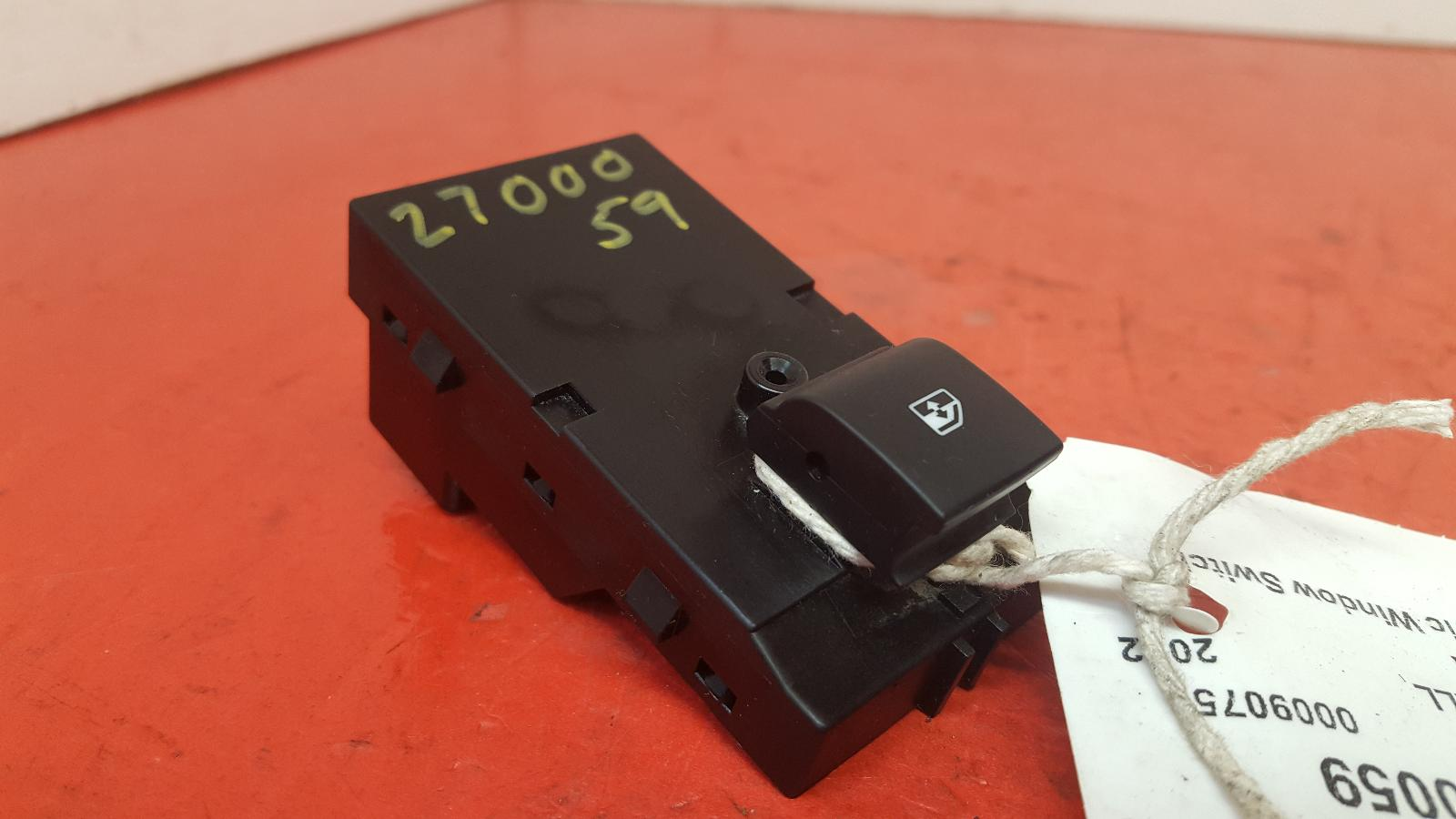 View Auto part Elect. Window Switch Vauxhall Astra 2012