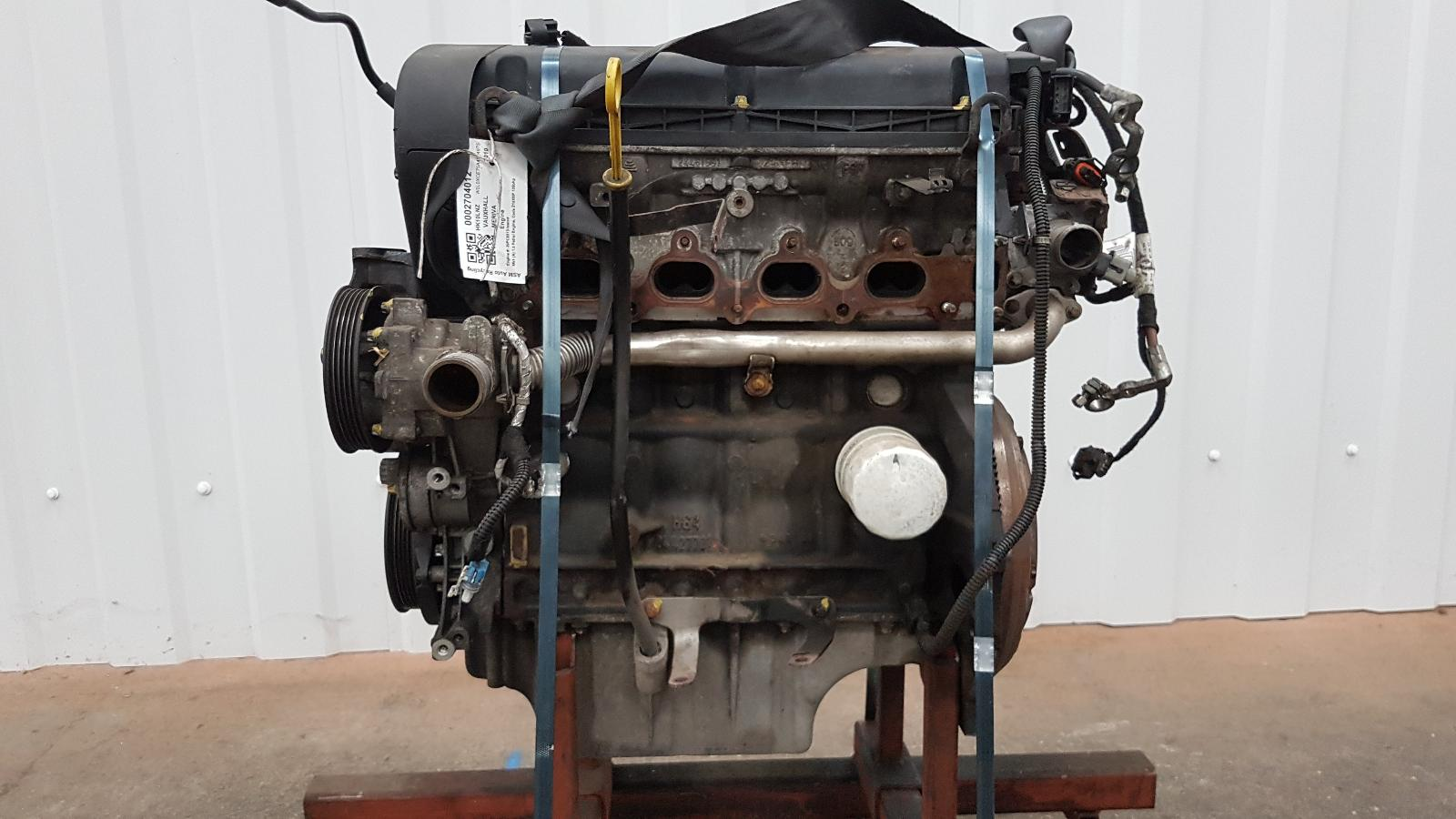 View Auto part Engine Vauxhall Meriva 2010