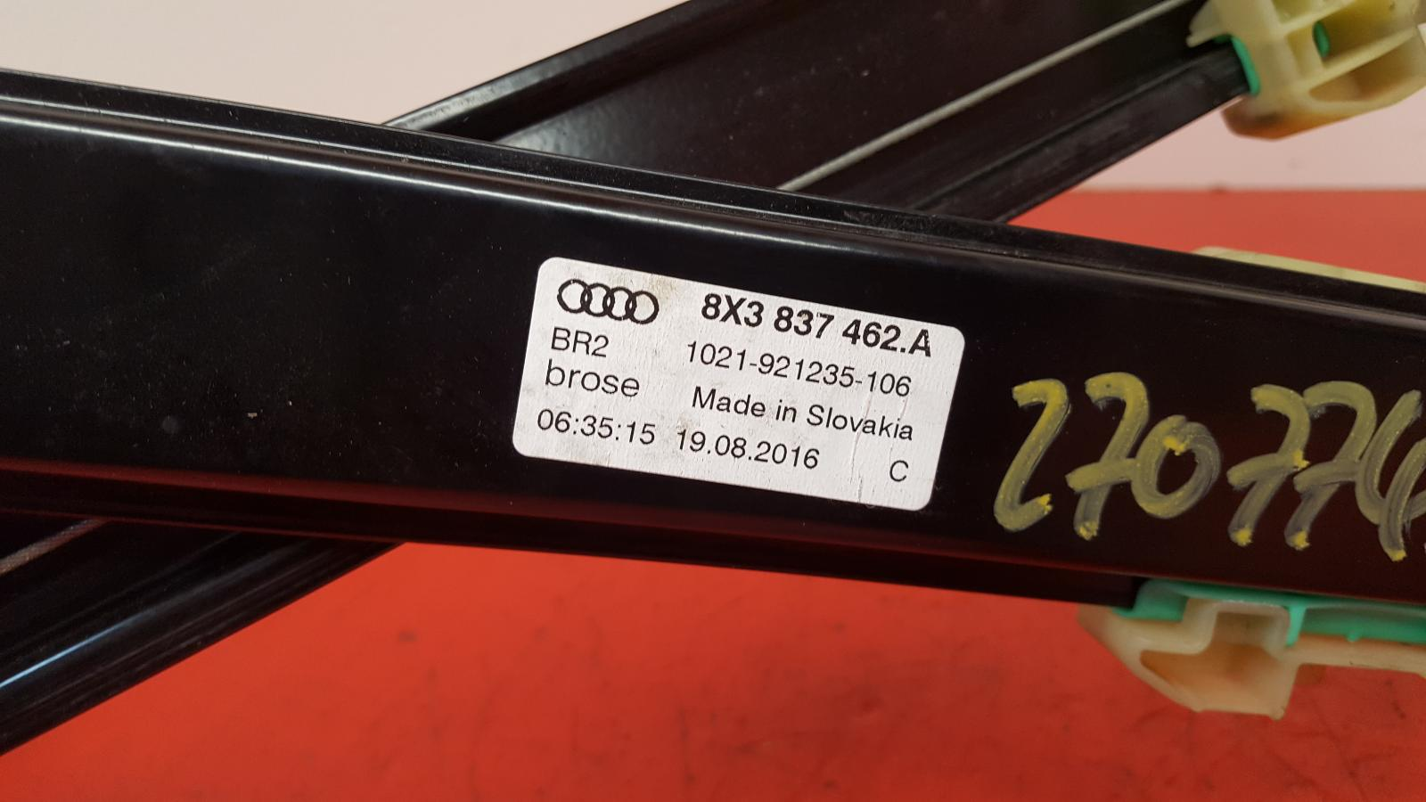 View Auto part RF Window Regulator Audi A1 2016