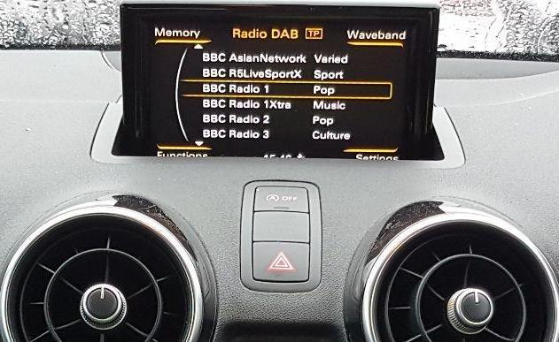 View Auto part Radio Display Audi A1 2016