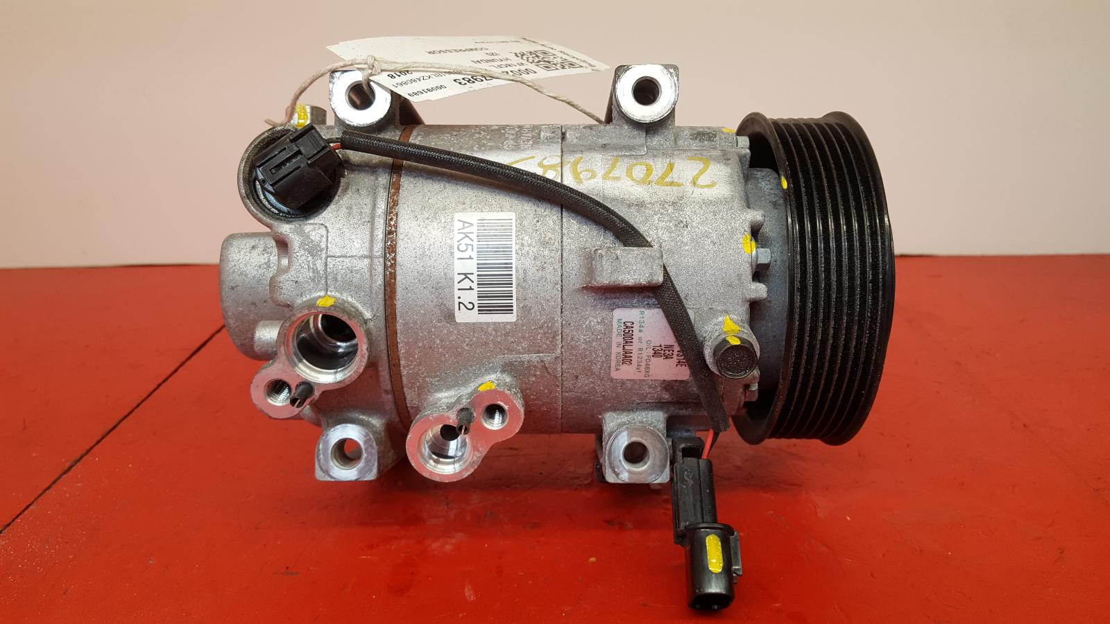 View Auto part Compressor Hyundai I20 2018