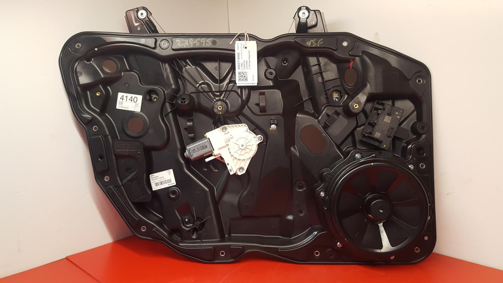 View Auto part LF Window Regulator Porsche Cayenne 2017