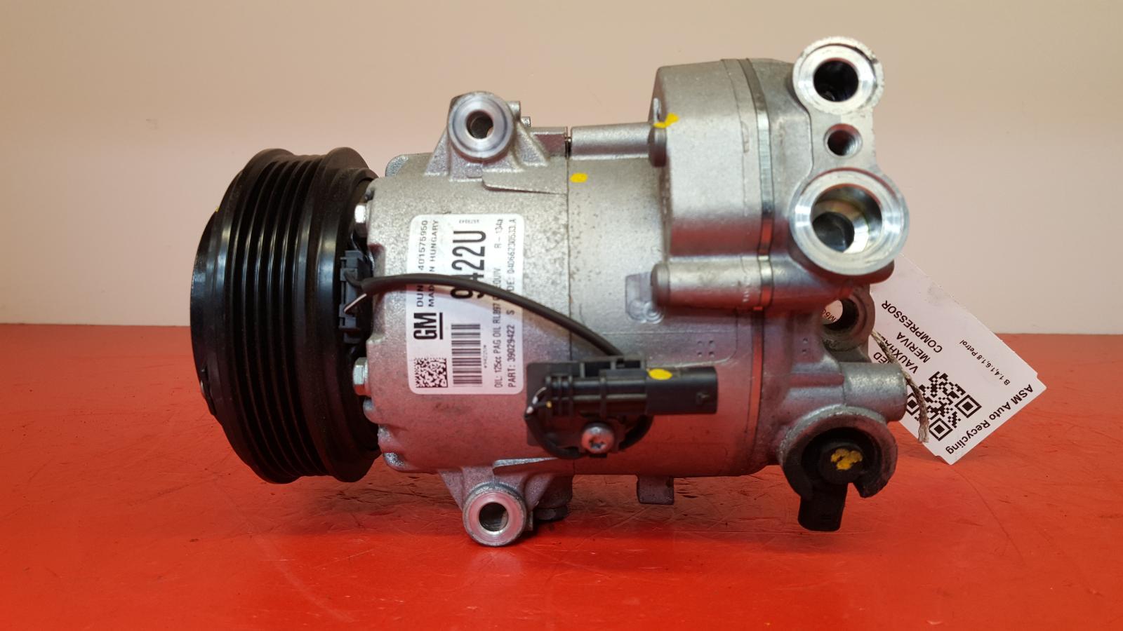 View Auto part Compressor Vauxhall Meriva 2016