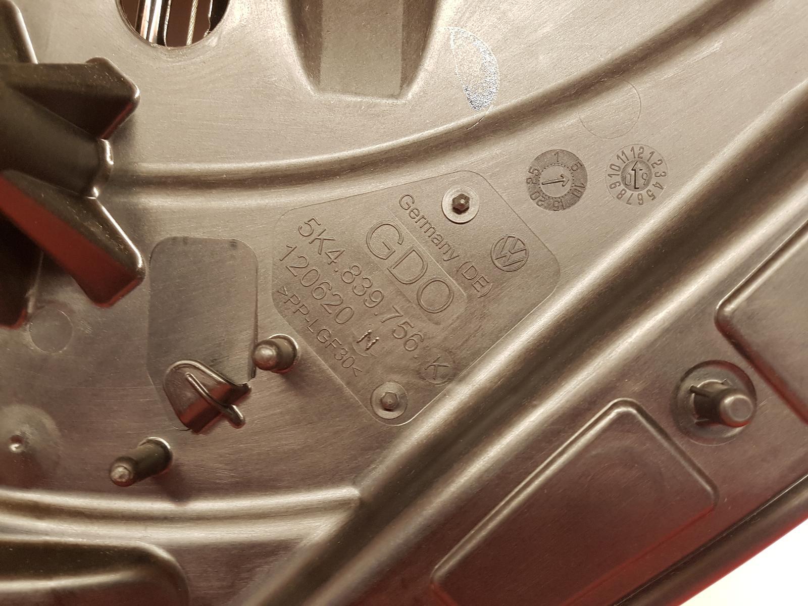 View Auto part RR Window Regulator Volkswagen Golf 2010