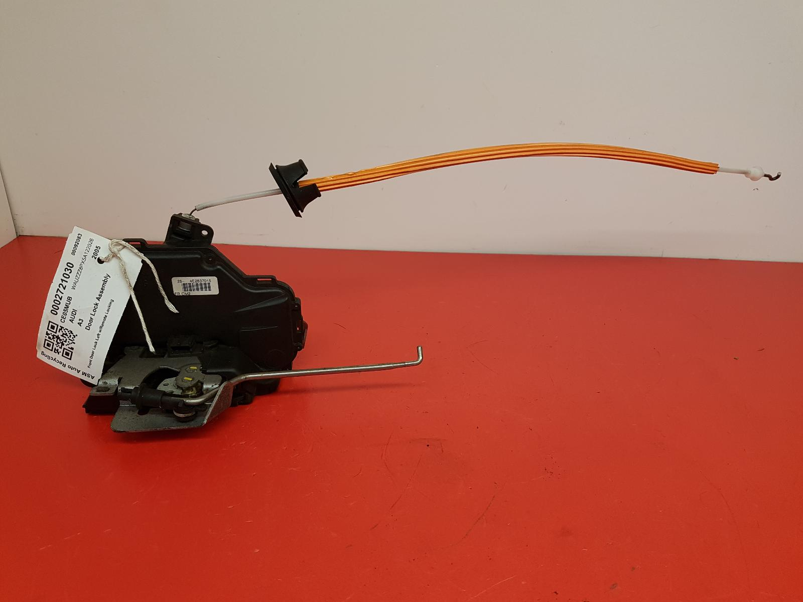 View Auto part Door Lock Assembly Audi A3 2005