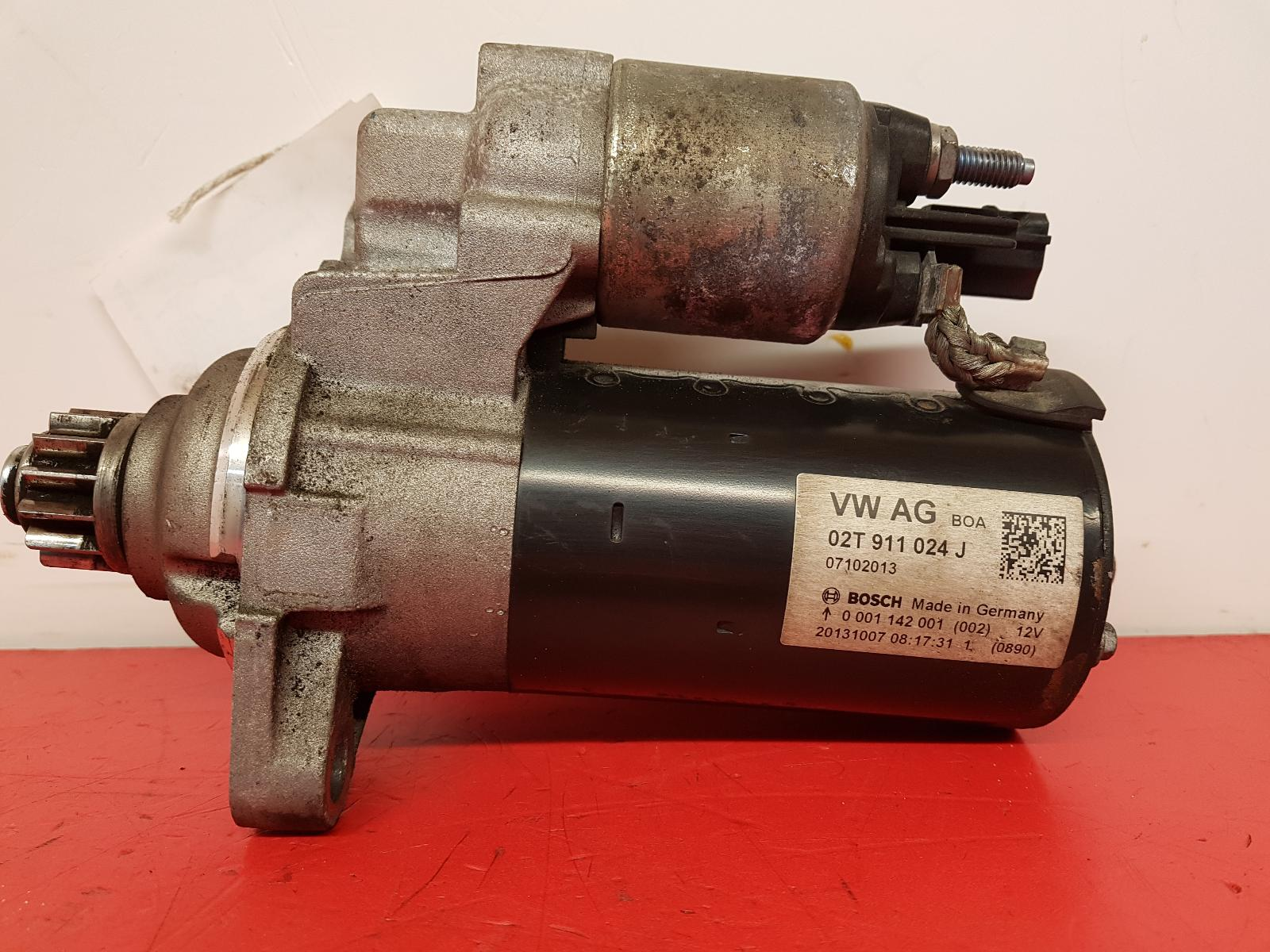 View Auto part Starter Motor Audi A1 2013