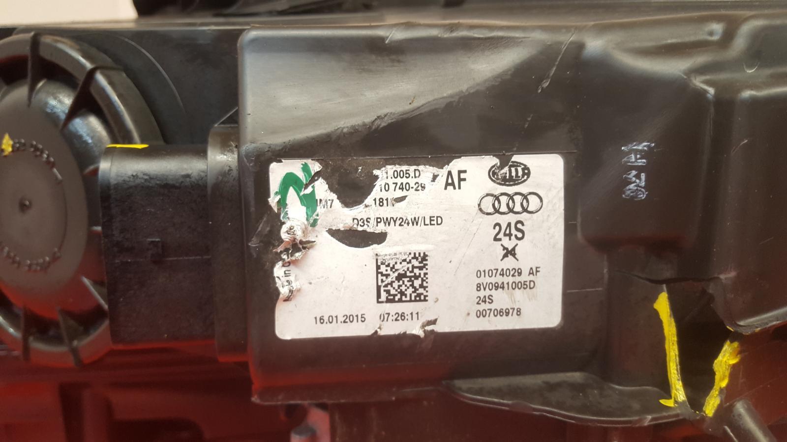View Auto part Misc Audi A3 2015