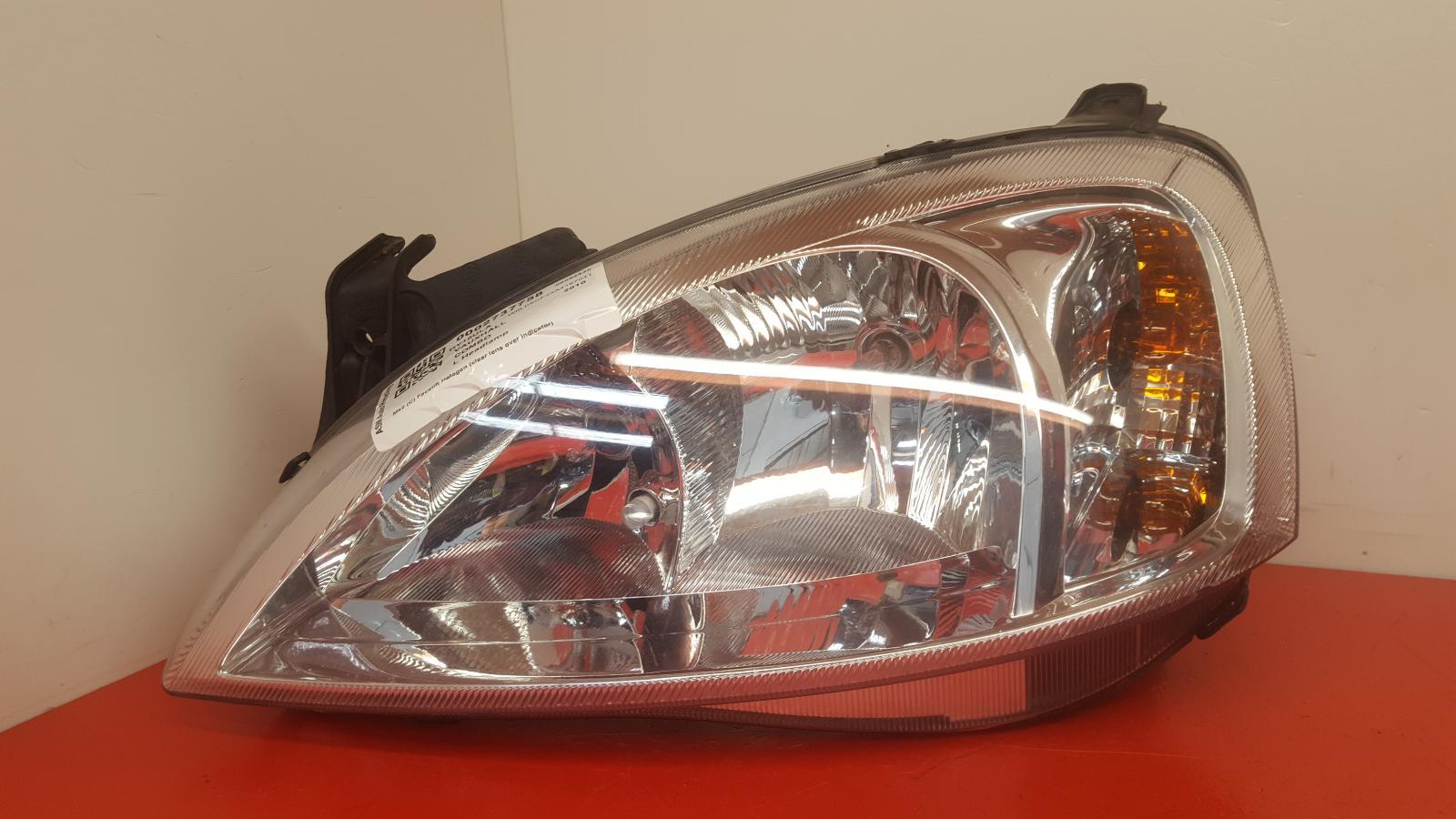 View Auto part L Headlamp Vauxhall Combo 2010