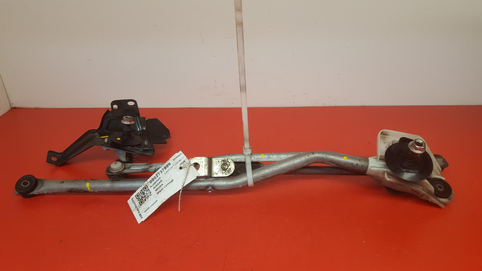 View Auto part Wiper Linkage Nissan Micra 2008