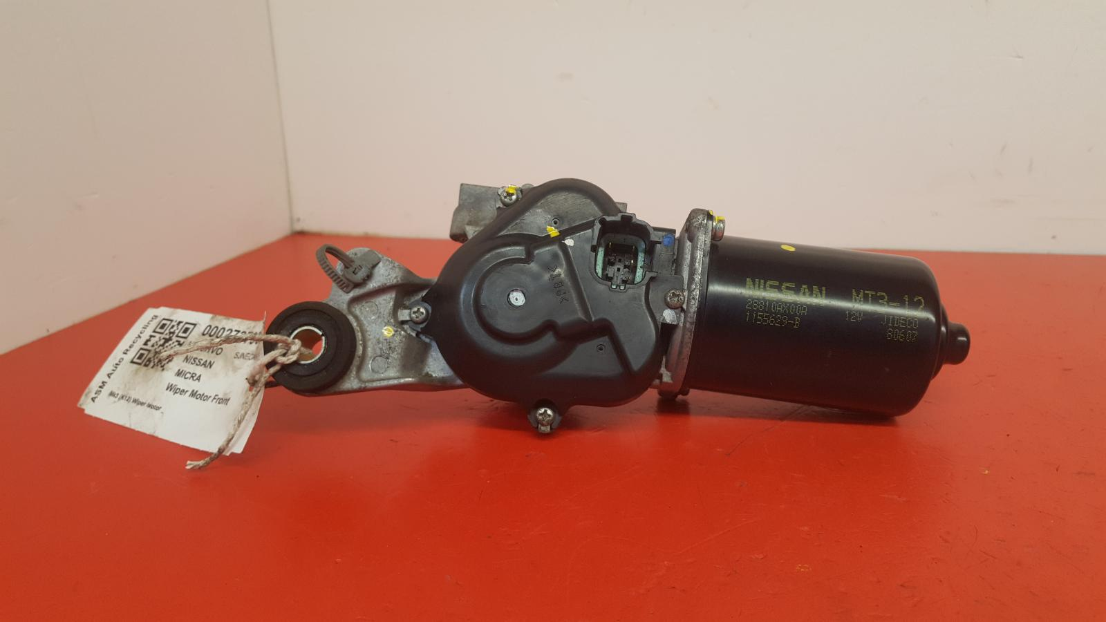 View Auto part Wiper Motor Front Nissan Micra 2008