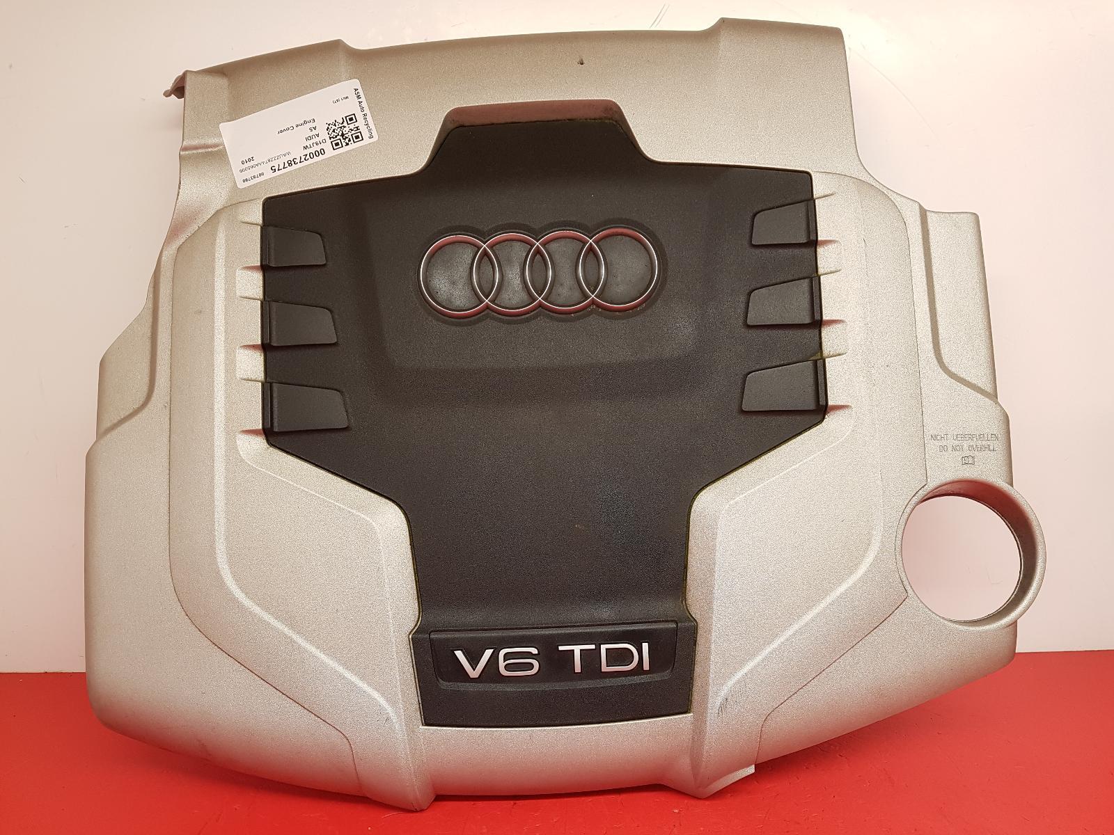 View Auto part Engine Cover Audi A5 2010