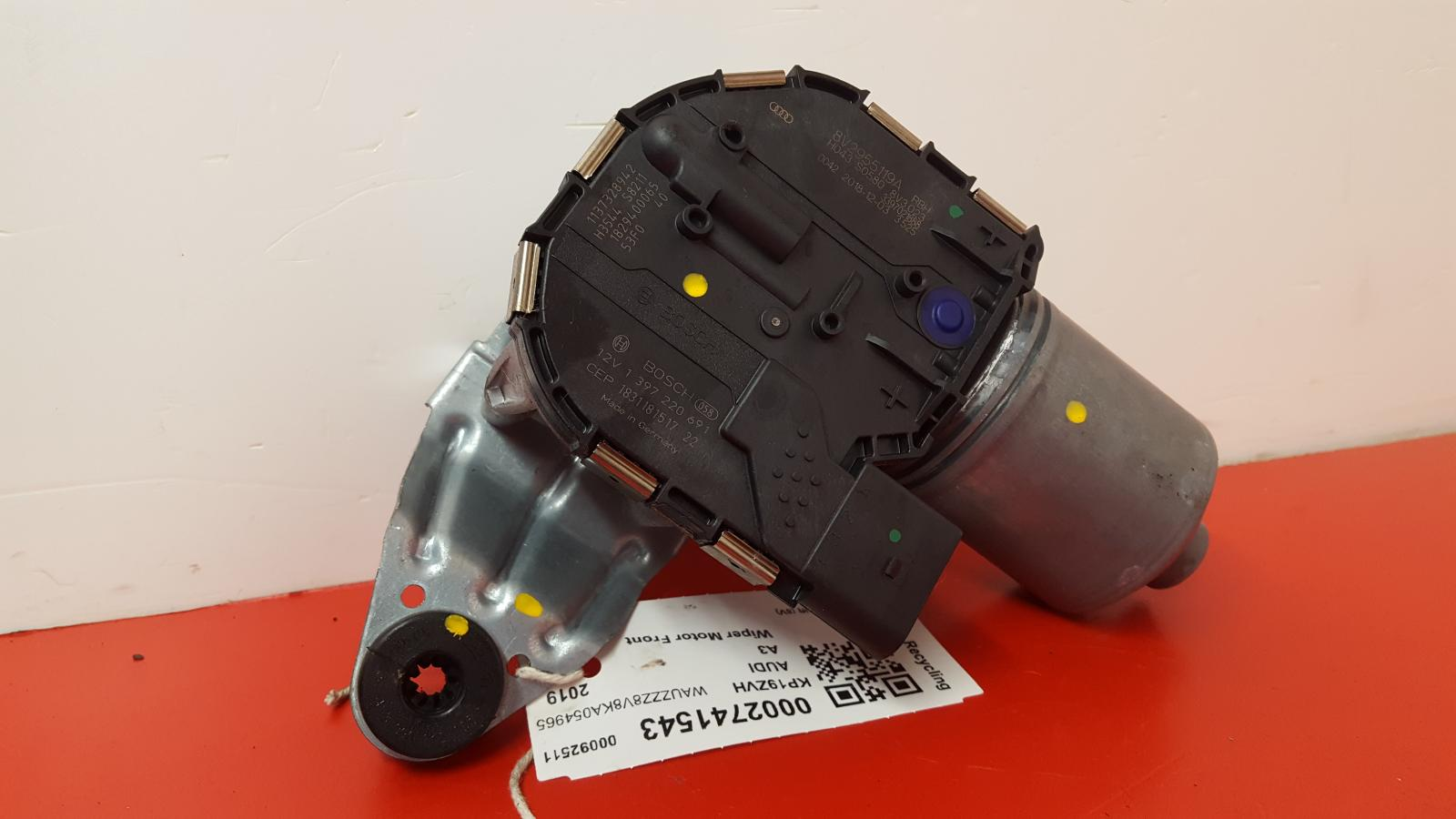 View Auto part Wiper Motor Front Audi A3 2019