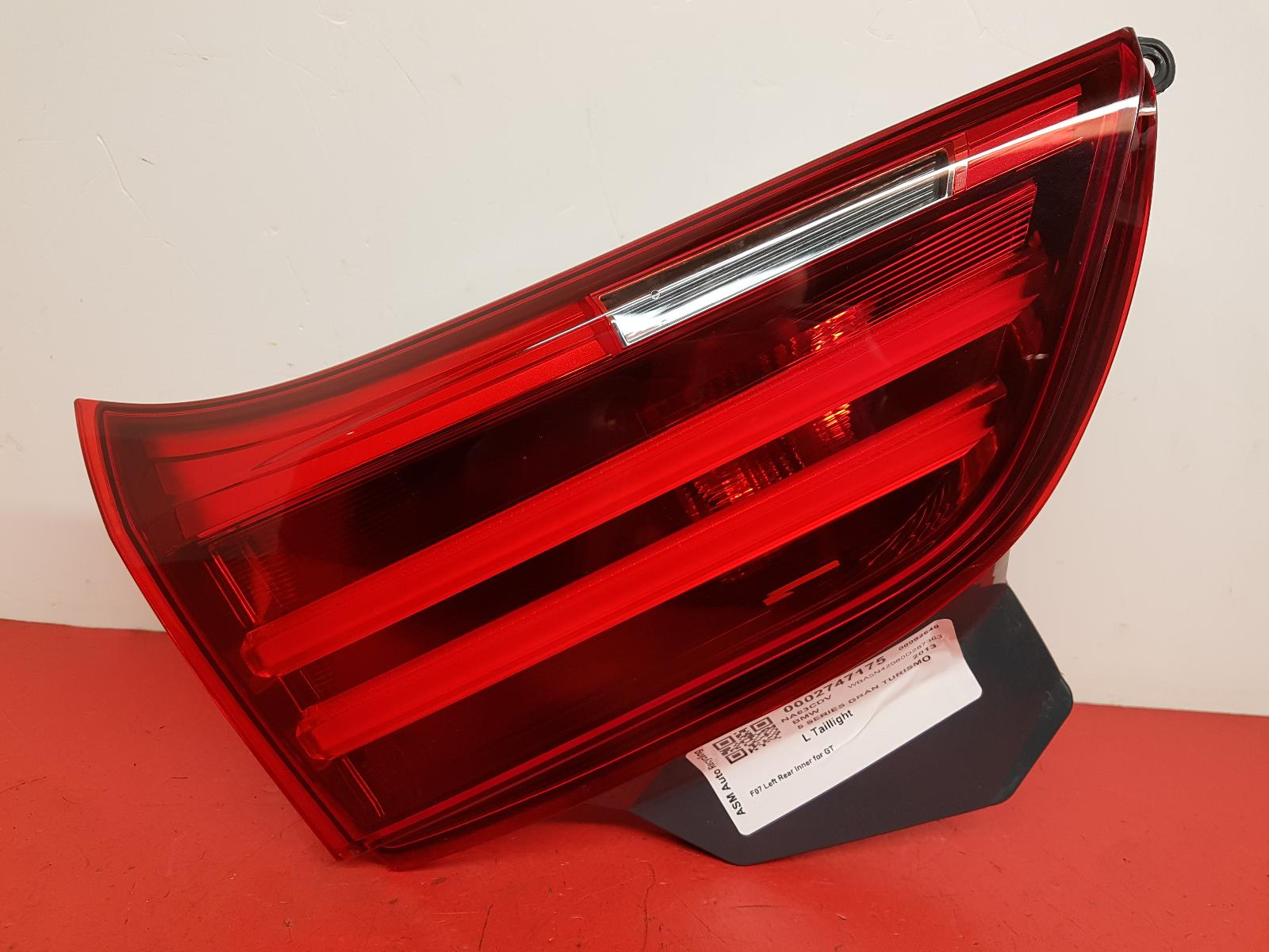 View Auto part L Taillight Bmw 5 Series Gran Turismo (gt) 2013