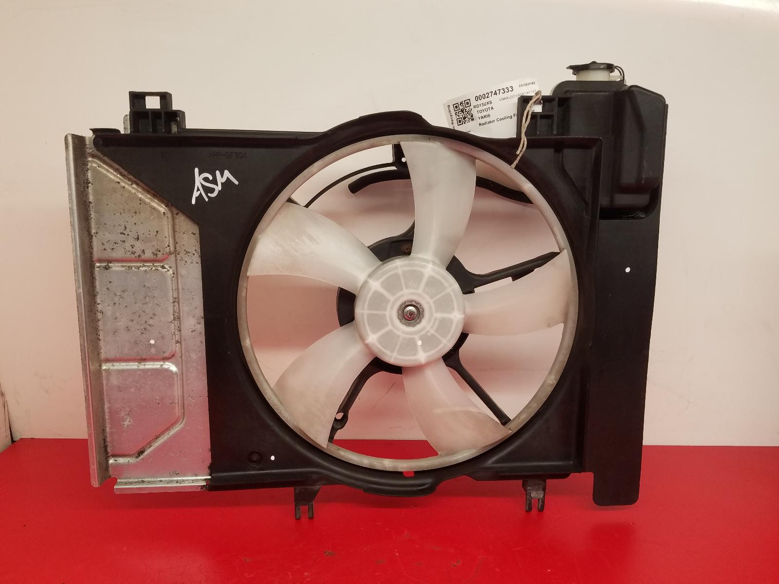 View Auto part Engine Cooling Motor Toyota Yaris 2013
