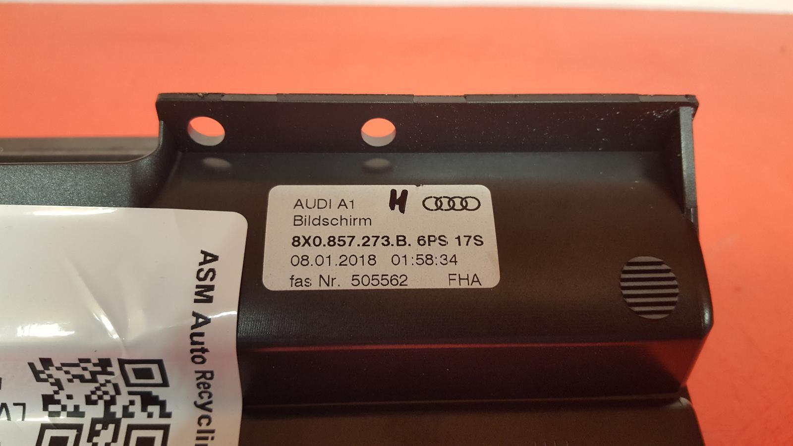 View Auto part Sat. Nav. Unit Audi A1 2018
