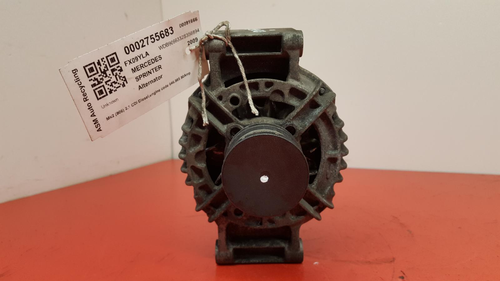 View Auto part Alternator Mercedes Sprinter 2009