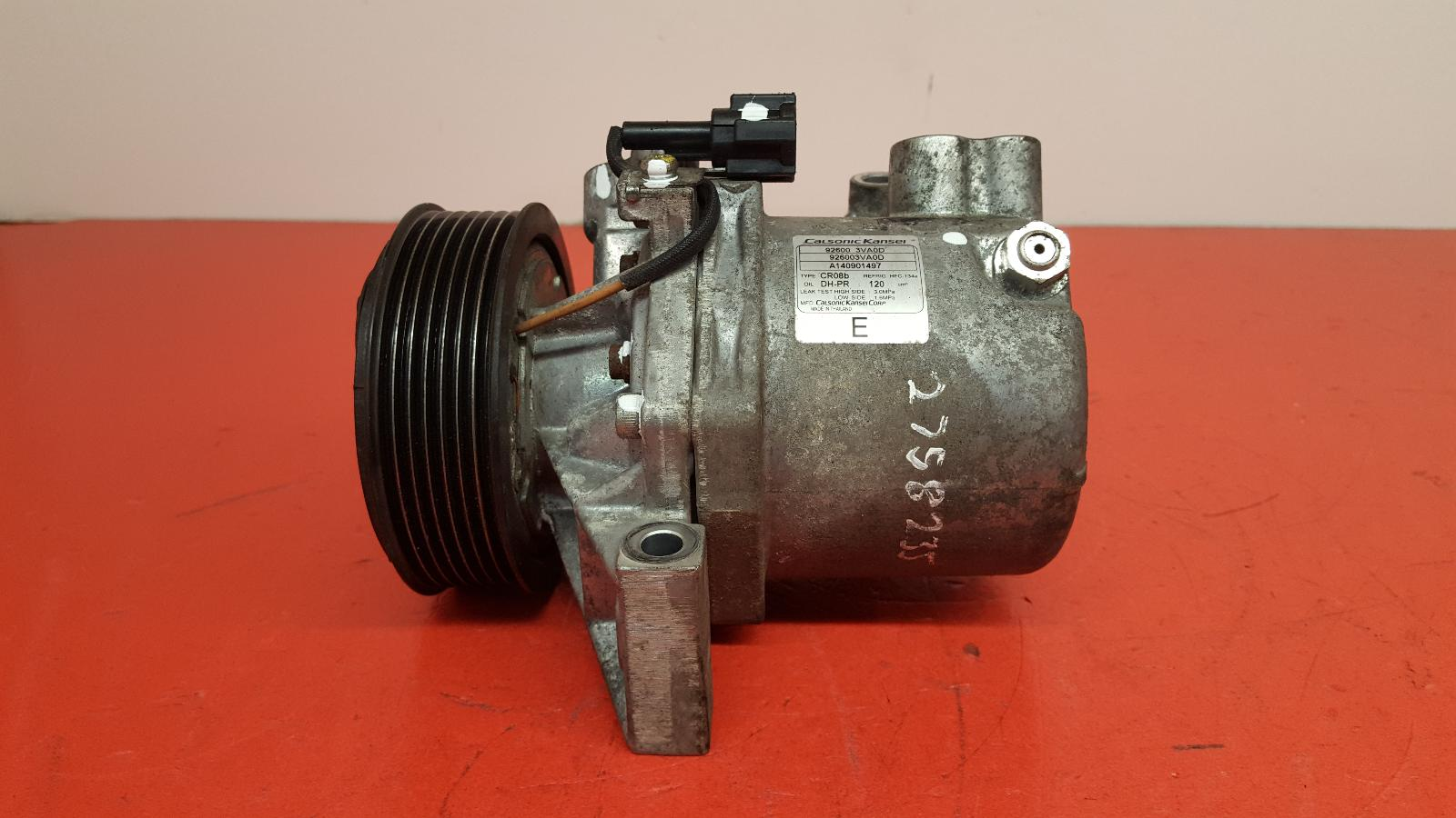 View Auto part Compressor Nissan Micra 2014