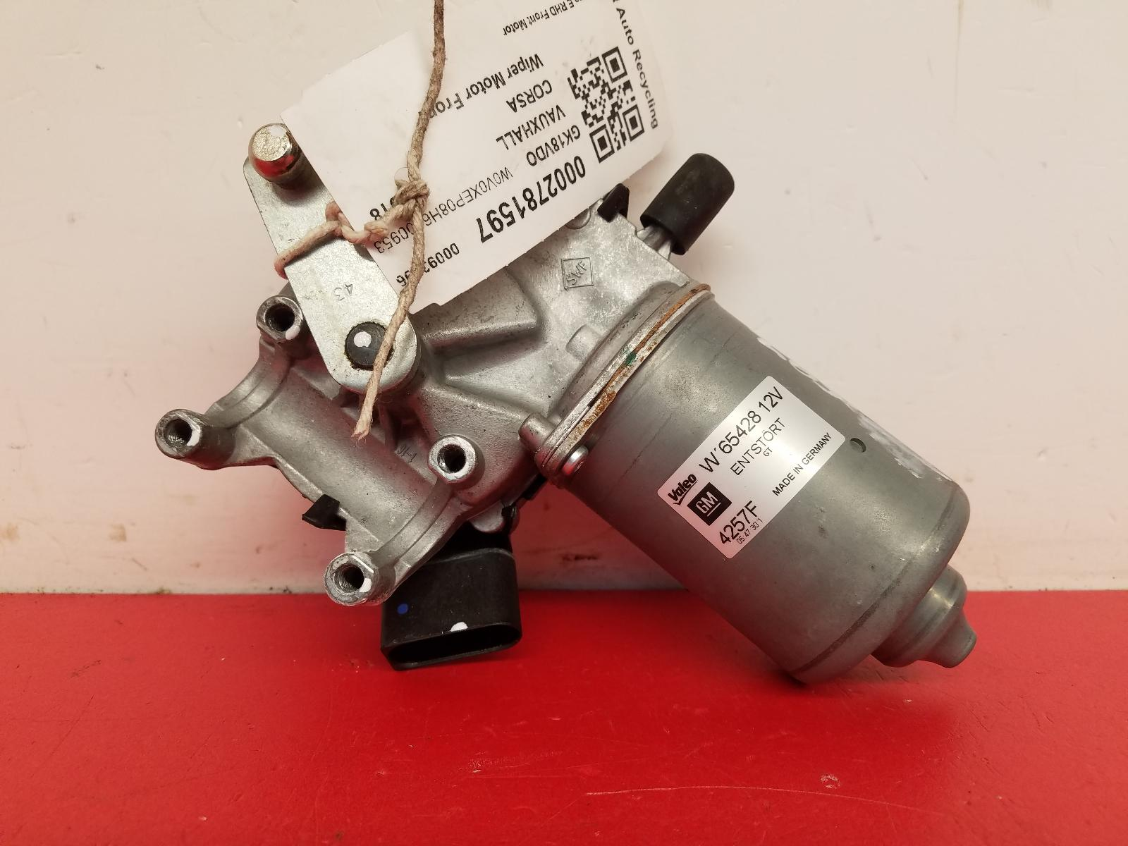 View Auto part Wiper Motor Front Vauxhall Corsa 2018