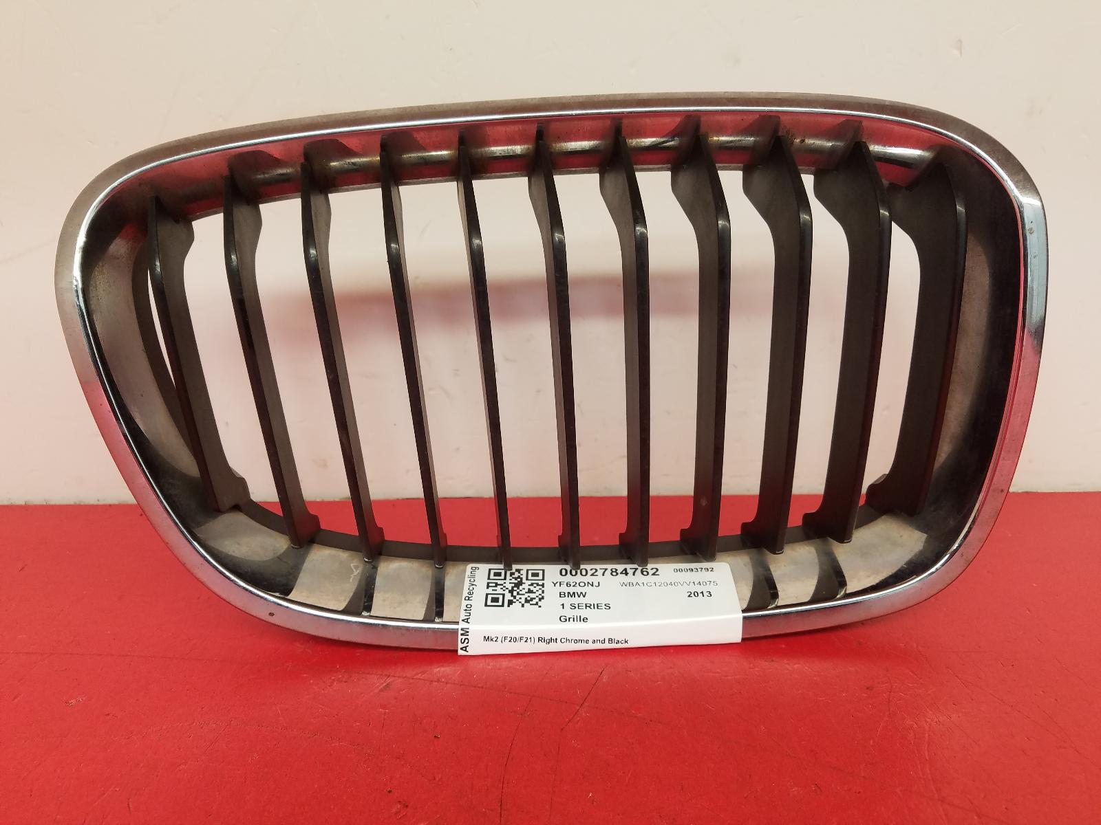 View Auto part Grille Bmw 1 Series 2013