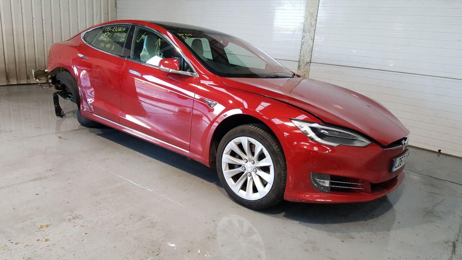 Image for a Tesla Model S 2018 5 Door Hatchback