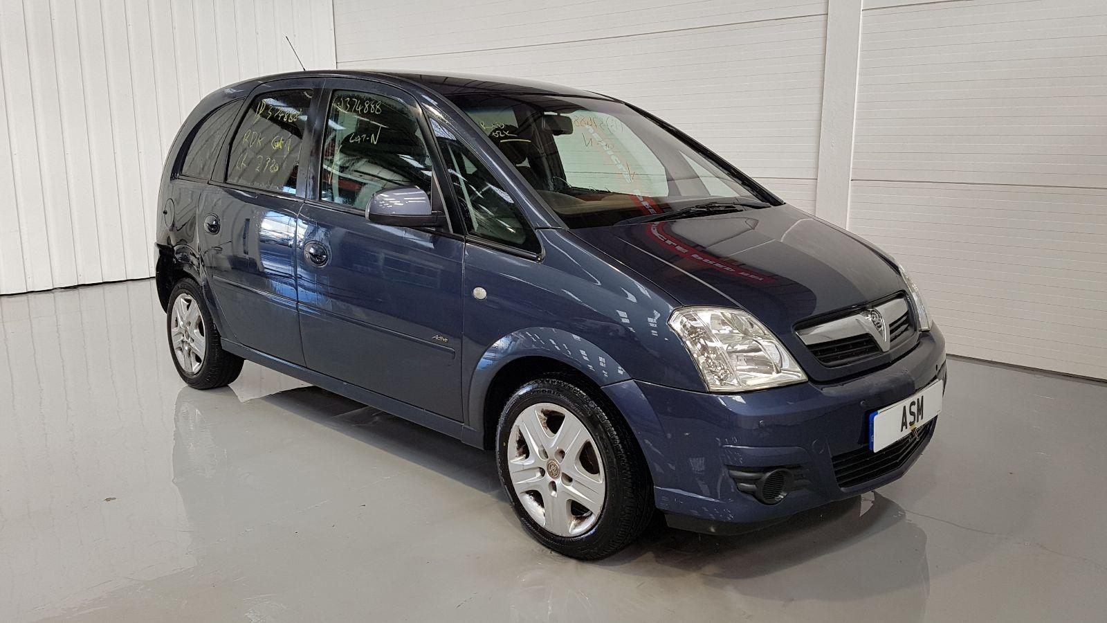 Image for a 2010 Vauxhall Meriva 1.6 Petrol  Engine