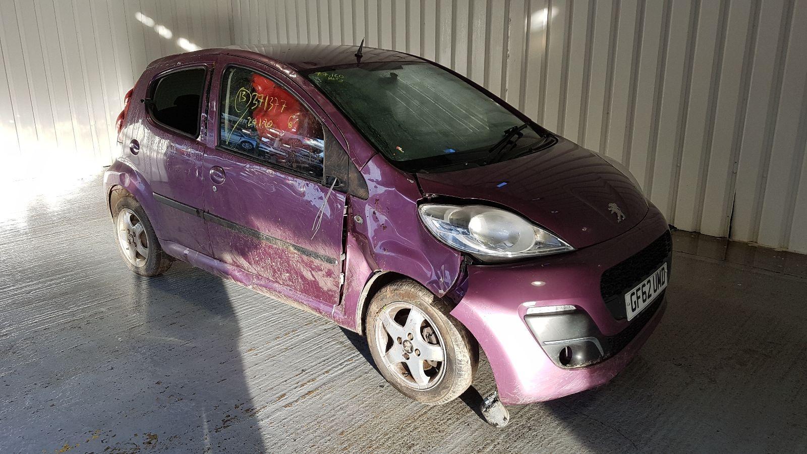 Image for a Peugeot 107 2012 5 Door Hatchback