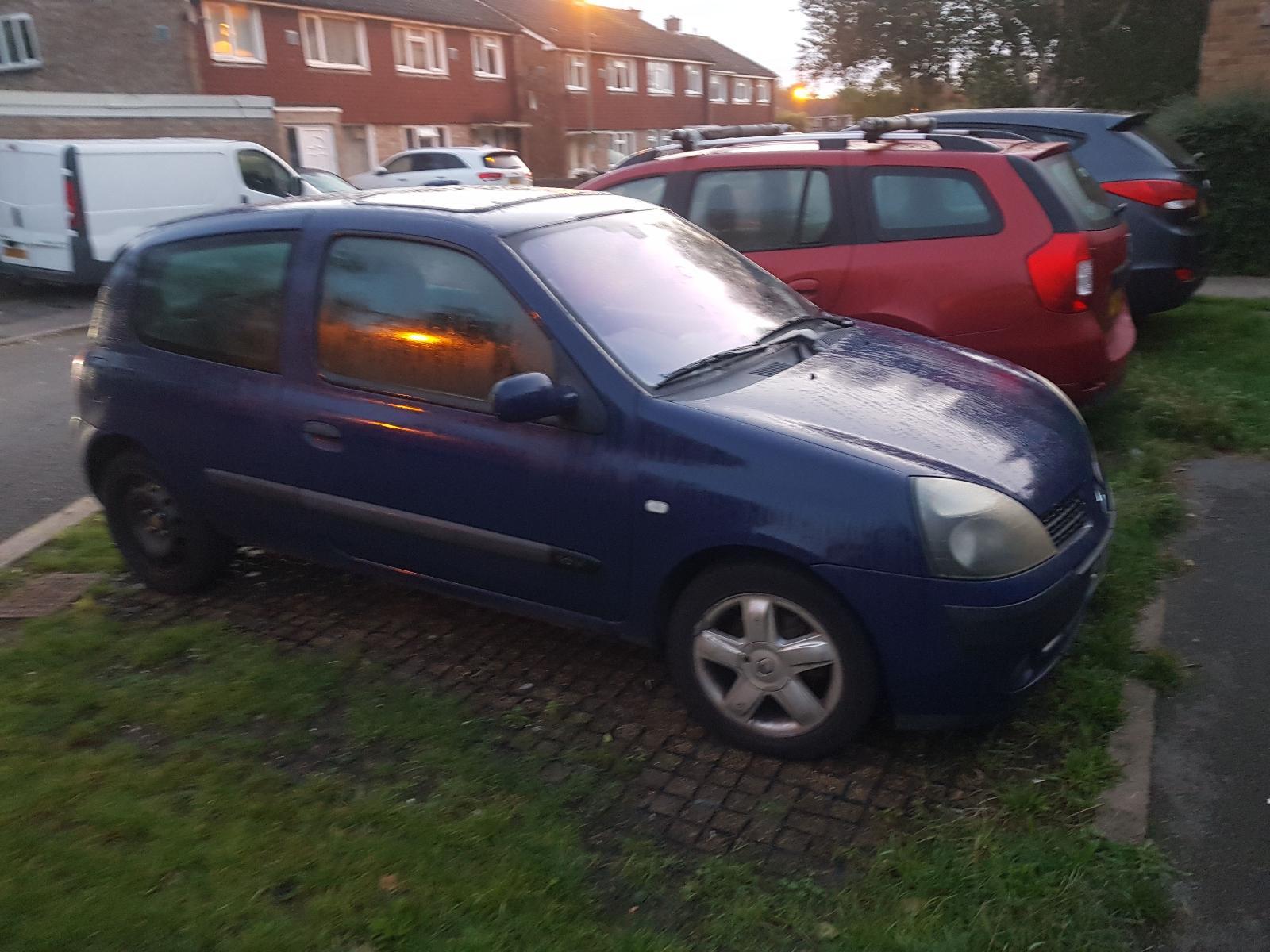 Image for a Renault Clio 2003 3 Door Hatchback