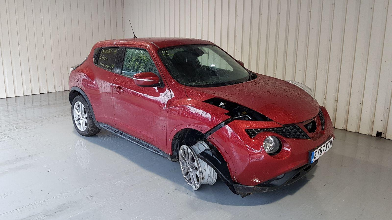 Image for a Nissan Juke 2017 5 Door Hatchback