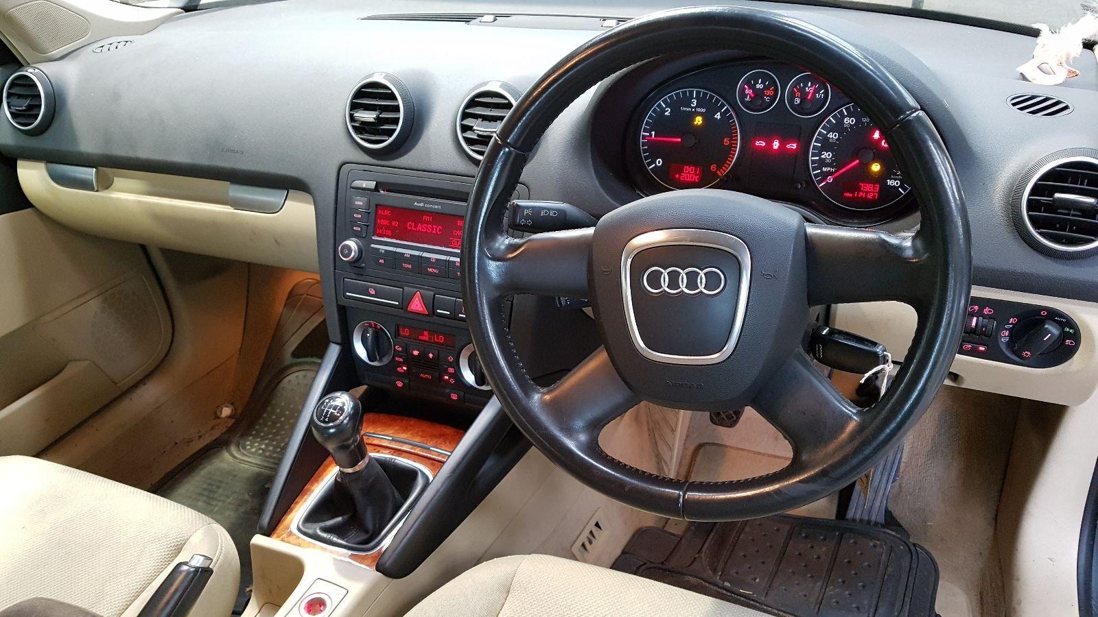 View Auto part RF Door Window Audi A3 2007