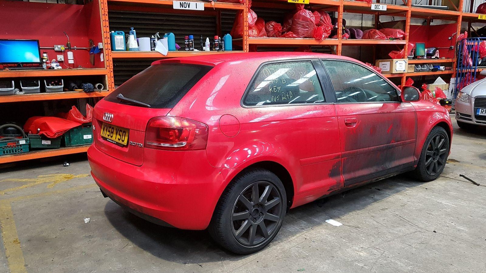 View Auto part Audi A3 2008 3 Door Hatchback