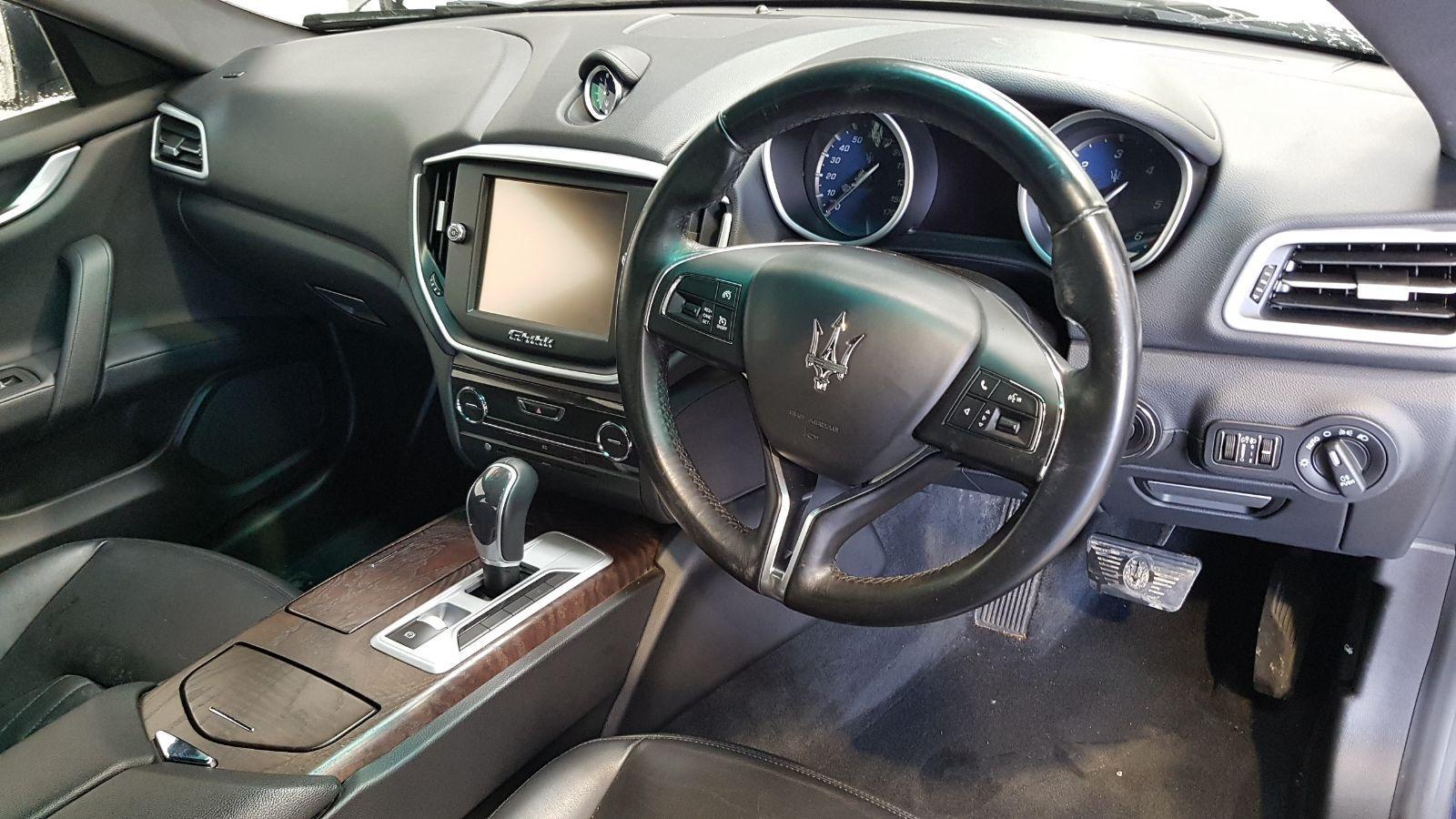 View Auto part Maserati Ghibli 2015 4 Door Saloon