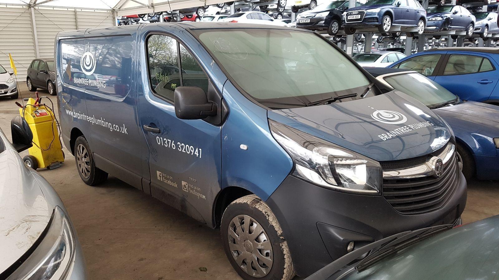 Image for a Vauxhall Vivaro 2016 5 Door Van