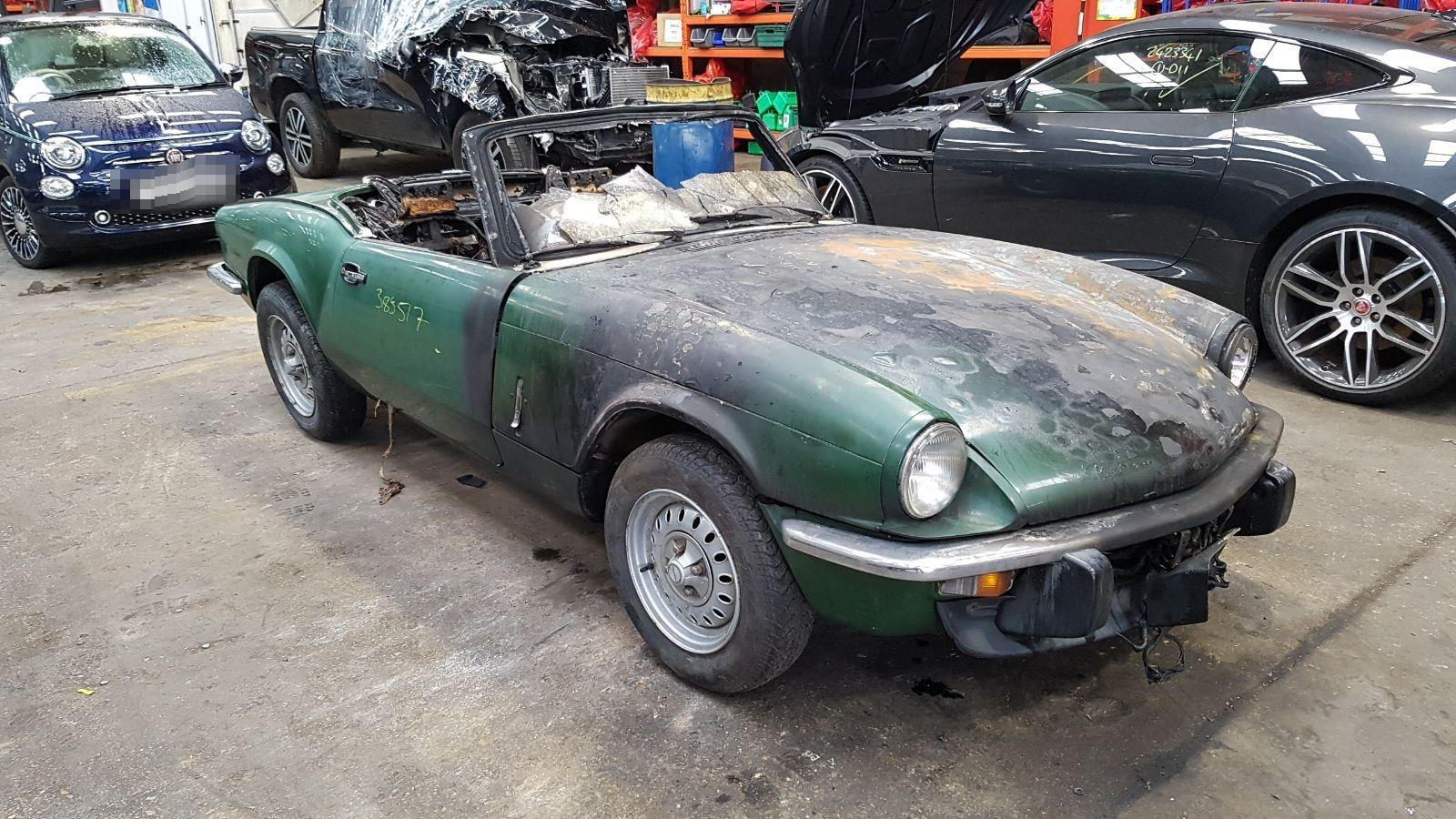 Image for a Triumph Spitfire 1977 2 Door Coupe
