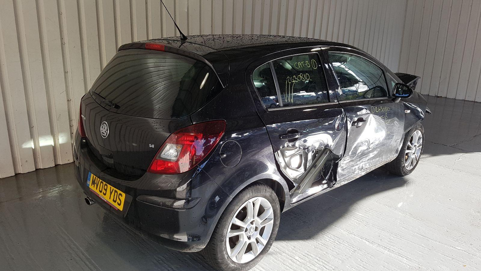 View Auto part Vauxhall Corsa 2009 5 Door Hatchback Breaking
