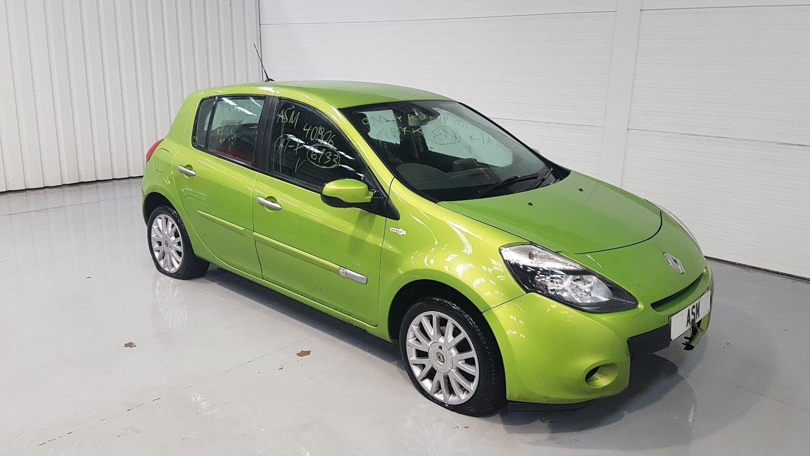 Image for a Renault Clio 2010 5 Door Hatchback Breaking