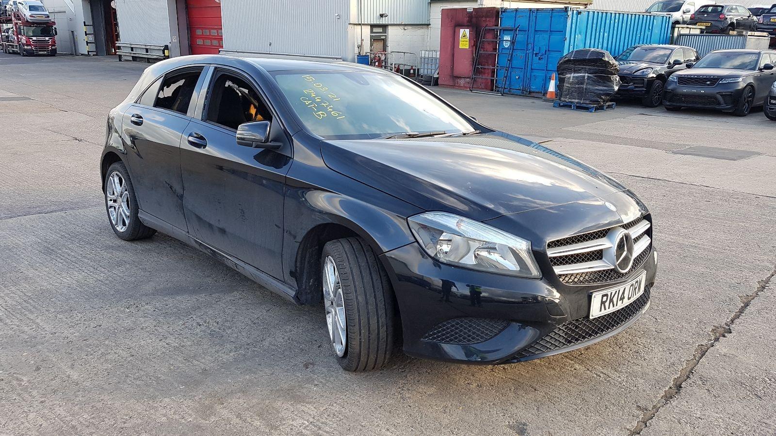 Image for a Mercedes A Class 2014 5 Door Hatchback Breaking