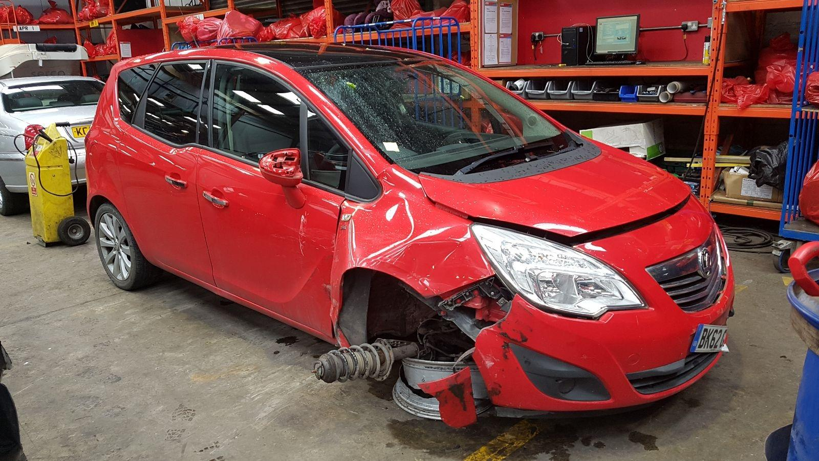 Image for a Vauxhall Meriva 2012 5 Door Bodystyle.mpv Breaking