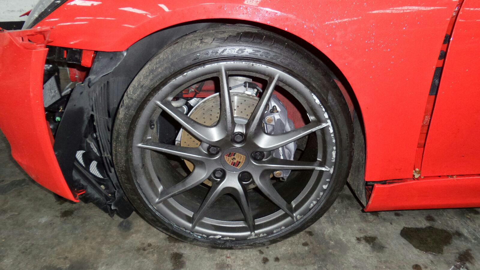 View Auto part Engine Porsche Cayman 2014