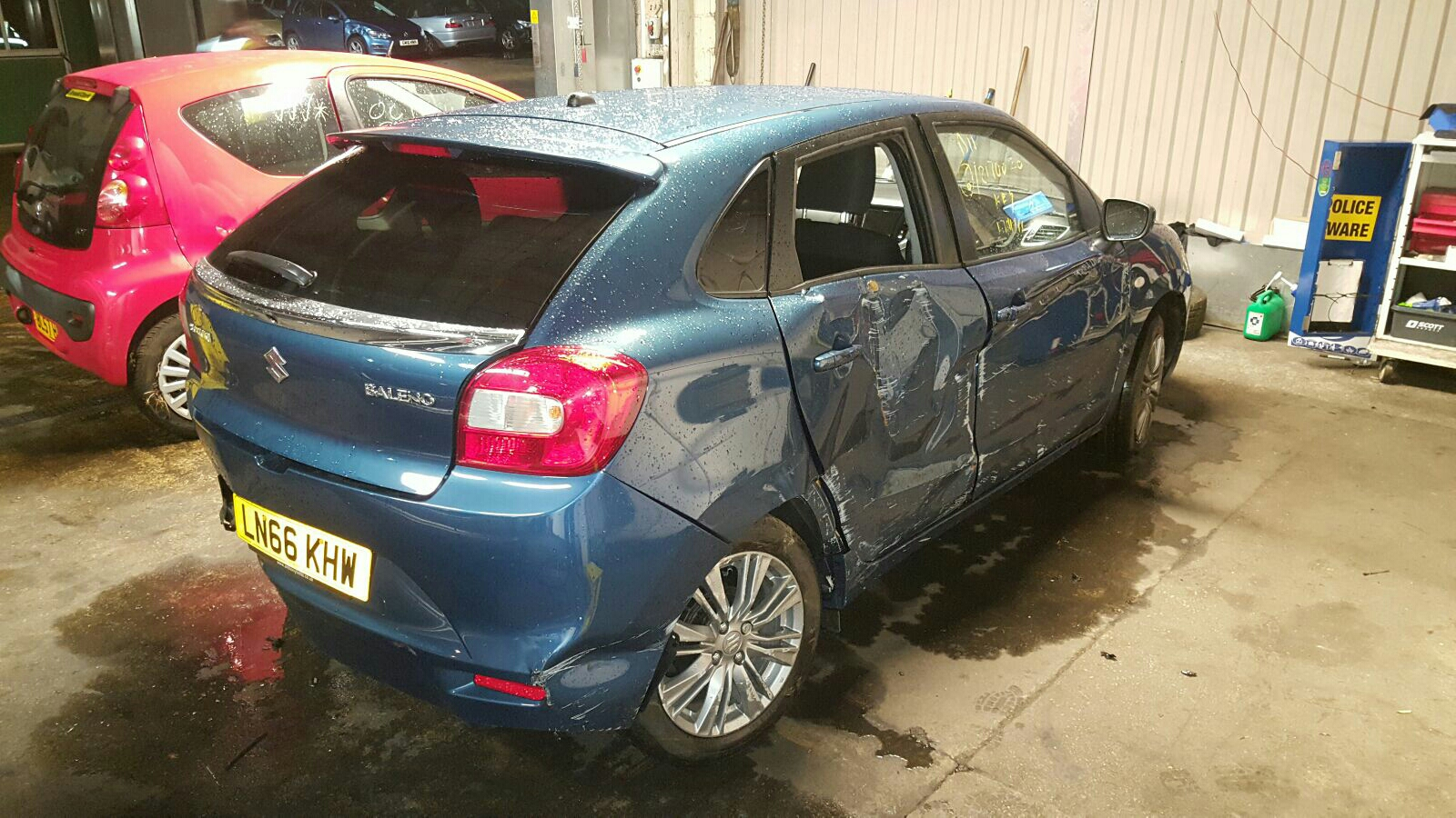 View Auto part Suzuki Baleno 2016 5 Door Hatchback