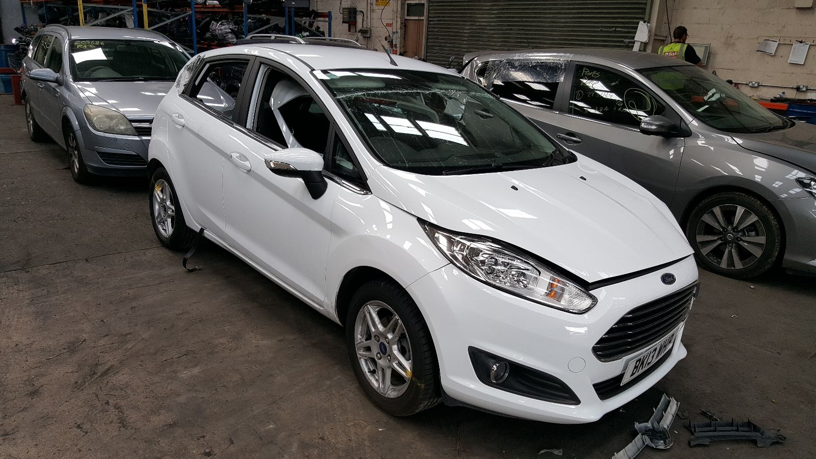 Image for a 2013 Ford Fiesta 1.6 Petrol IQJA Engine
