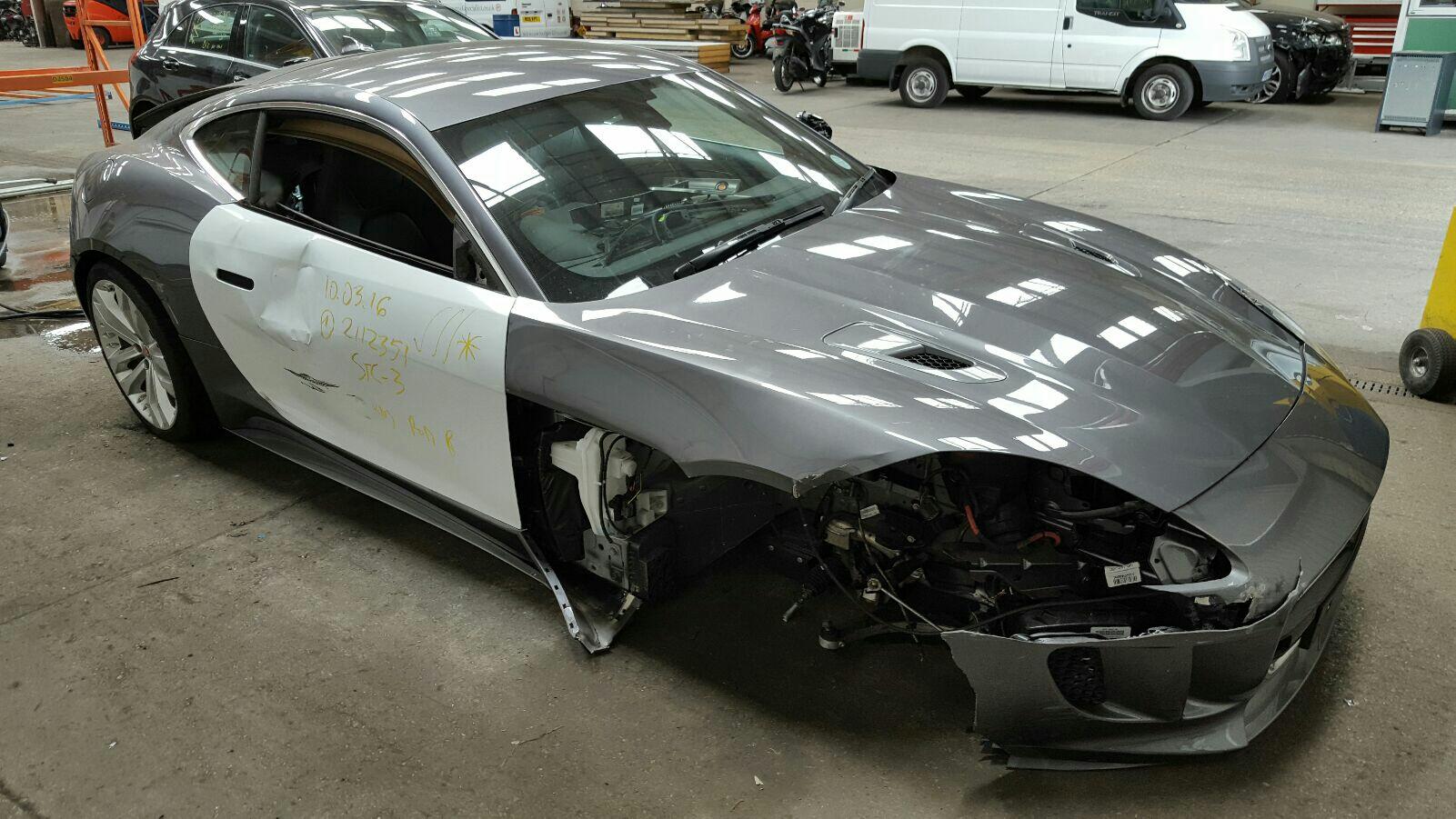 Image for a Jaguar F Type 2016 2 Door Coupe Breaking