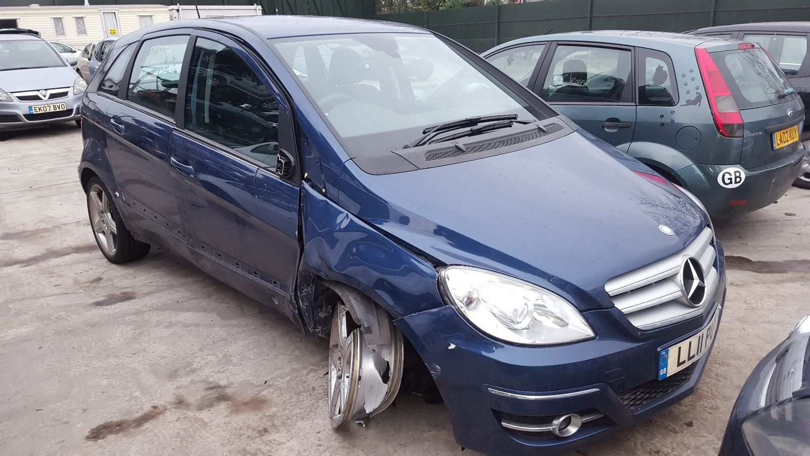 Image for a 2011 Mercedes B Class 1.5 Petrol M266.920 Engine