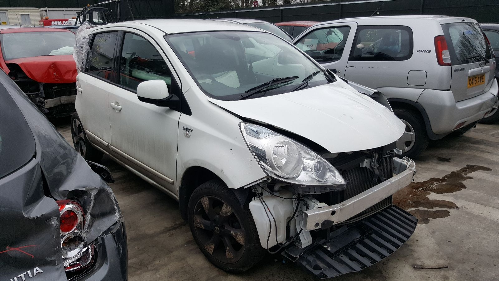 Image for a 2012 Nissan Note 1.6 Petrol HR16DE Engine